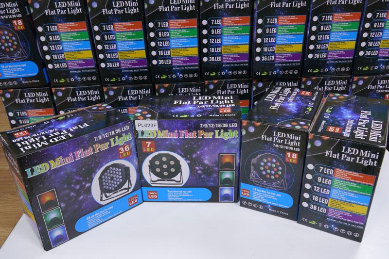 PL023 RGB LED Flat Par Light