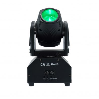 Mini Moving Head Beam Light Straight ahead