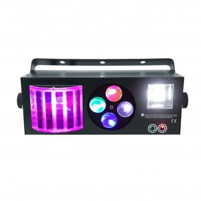 Magic ball Gobo Strobe Laser 4 in 1 Light Positive