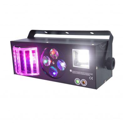 Magic ball Gobo Strobe Laser 4 in 1 Light side