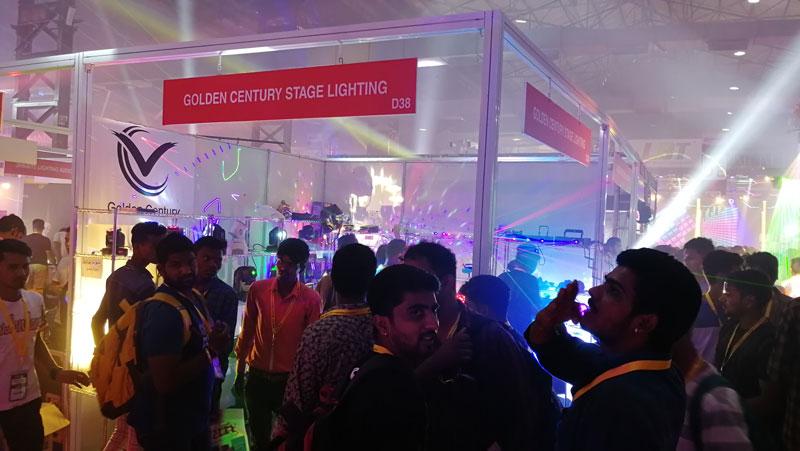 CHINA djlight factory PALM Expo 2018 - Mumbai in INDIA