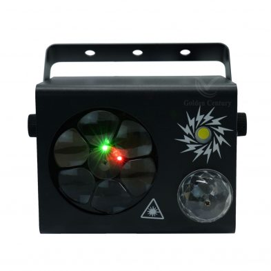 LE411 Mini 4 in 1 Effect Light Magic ball Laser Strobe light Pattern lighting laser