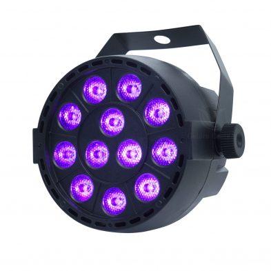 PL015P 12-1W stage uv par light UV disco light Demonstration