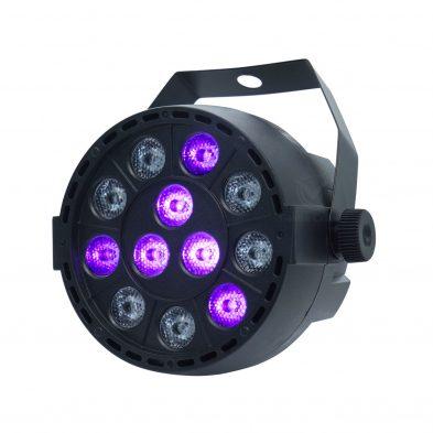 PL015P 12-1W stage uv par light UV disco light show